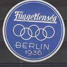 German Poster Stamp Berlin 1936 Olympics R Large