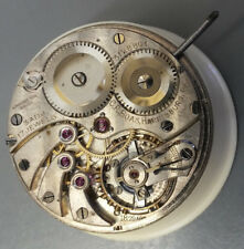 1900,s high grade  Logines caliber 18.79 ABC  pocket watch movements for parts