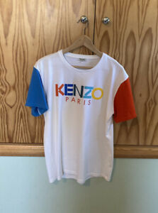 Kenzo Paris White T-Shirt Size Medium