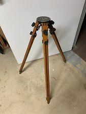 "New listing Vintage Ries Model C Tri-Lok 32"" Camera/Survey Tripod"