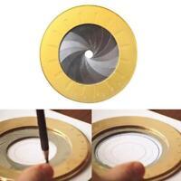 Dessin de cercle rotatif réglable pour outil de menuiserie de concepteur