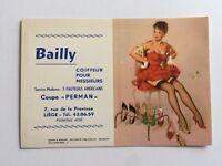 Vintage 1964 Elvgren Pin Up Girl Picture Blotter From Belgium