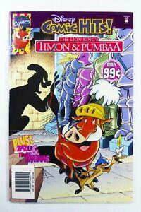 Marvel DISNEY COMIC HITS (1996) #8 RARE Newsstand LION KING FN/VF Ships FREE!
