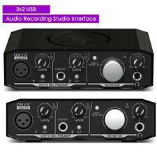 New Mackie Onyx Artist 1.2 2x2 USB Audio Recording Studio Interface