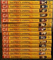 Faeries Landing 1, 2, 3, 7, 8, 9, 11, 13, 14, 15, 16, 17, 18, 19 Manga Manhwa