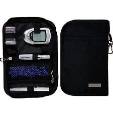 Black  SumacLife Diabetic Insulin Organizer Supply Bag Holder Case Pack