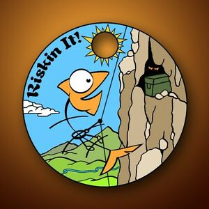 RISKIN IT Pathtag geocoin - New - Loggable