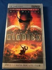 Umd Video Psp Unrated Director's Cut The Chronicles Of Riddick