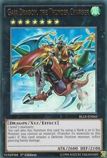 YUGIOH 3 X GAIA DRAGON, THE THUNDER CHARGER -  BLLR-EN065  ULTRA
