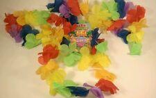 6 x HAWAIIAN HEN/STAG NIGHT HULA LEI/HEADBAND/WRIST CUFFS FANCY DRESS