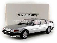 MINICHAMPS - ROVER VITESSE 3.5 V8 SILVER COLOUR CIRCA 1986 1:18 SCALE.