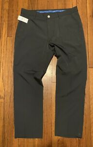 NEW BONOBOS GOLF Highland 34 X 32 Performance Polyester Pants Athletic Fit $118