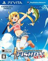 PS Vita Let's Try Bass Fishing FISH ON NEXT Japan PSV