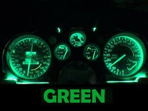 Gauge Cluster LED Dashboard Bulbs Green For Chevy 82 89 Camaro IROC Z28
