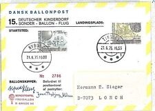 German Cover Aviation Postal Stamps