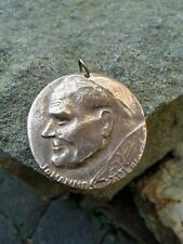 Pope Saint John Paul II Karol Wojtyła german BRONZE Relief Medal Pendant