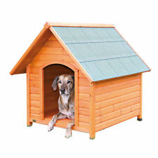 Outdoor Log Cabin Dog House & Home & Kennel & Shelter Free Shipping