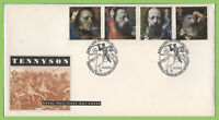 G.B. 1992 Tennyson set on u/a Royal Mail First Day Cover, Peninsula Barracks