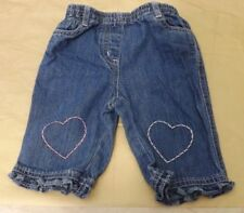 NEXT 100% Cotton Girls' Jeans (0-24 Months)