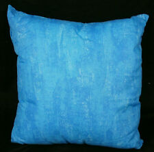 "Domestications ALOHA 16x16"" Toss Pillow 100% Cotton Blue NWD #676KCZ 11115F"