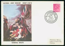 Mayfairstamps Great Britain 1971 General Wolfe Natl Army Museum Cover wwh_72039