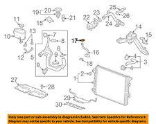 GM OEM Radiator-By-pass Pipe Upper Seal 94011602