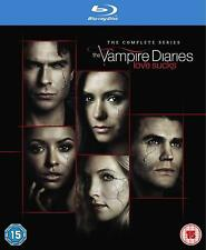 Vampire Diaries Complete Series Season 1+2+3+4+5+6+7+8 Blu-ray Box Set RB New
