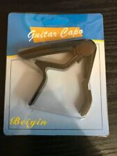 GUITAR CAPO CLAMP FOR ACOUSTIC & ELETRIC UKULELE TRIGGER RELEASE NEW ZINC ALLOY