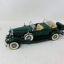 Danbury Mint 1932 CADILLAC V-16 SPORT PHAETON GREEN 1:24 CAR