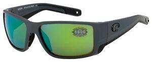 Costa Del Mar Blackfin Pro Sunglasses 6S9078-1060 Green Mirror Polarized 580G