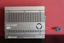 Sherwood XA1180 bp series 2 way car power stereo amp