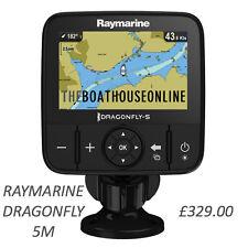 RAYMARINE DRAGONFLY 5 PRO M 7PRO CHART PLOTTER FISH FINDER GPS TRANSDUCER 5PRO