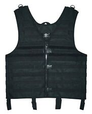BLACK LOAD CARRIER Tactical Molle Vest Police SWAT Chest Rig Paintball Airsoft