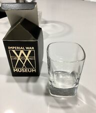 VINTAGE RARE Imperial War Museum Cabinet Rooms London shot glass NEW in BOX 🥃