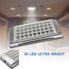 2x 12V 36 LED Spot Chambre Salon Lampe Panneau Plafond Encastré Panel Lumière