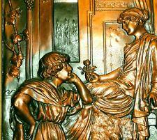 Altes Kupferrelief Relief Romeo Julia   41,5 x 26,5 cm Romeo Juliet Shakespeare