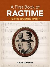 A First Book of Ragtime: 24 Arrangements for the Beginning Pianist with Download