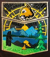 TUKARICA OA LODGE 266 BSA ORE-IDA COUNCIL 2018 NOAC 2-PATCH SMY STAFF 175 MADE