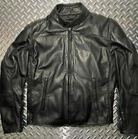 Men's Dainese Mike Leather Motorcycle Jacket Sz. 50 EU *New Closeout*