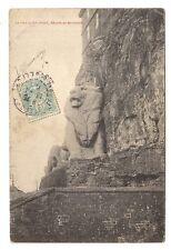 le lion de belfort , oeuvre de bartholdi -