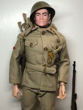"12"" Vintage Hasbro GI Joe Imperial Japanese Soldier Uniform 1960's All Original"