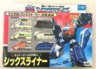 Transformers Six Liner Micro Transformer Takara 6 Combined C-370 Japan limited #