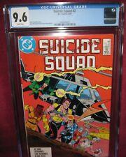 SUICIDE SQUAD #2 DC COMIC (1987 1ST SERIES) - CGC 9.6 WHITE PAGES