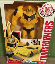 "Transformers BUMBLEBEE Figure Robots in Disguise HASBRO 12"" Tall New"