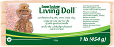 Super Sculpey Living Doll Beige 1lb 454g - LOWEST PRICE IN UK