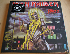 iron maiden killers stretch canvas wall art 40cm x 40cm officially licenced new