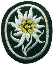 German WW 2 Mountain Troops Sleeve Edelweiss Green Cloth
