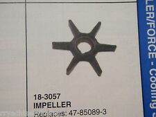 WATER PUMP IMPELLER FORCE OUTBOARD 18-3057 REPLACES 47-85089-3 40HP 50HP 1995-99