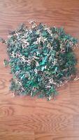 Huge Lot of Plastic Green and Tan Army Men