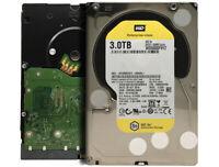 "WD WD3000F9YZ 3TB 7200RPM 64MB Cache SATA 6.0Gb/s 3.5"" Datacenter Hard Drive"